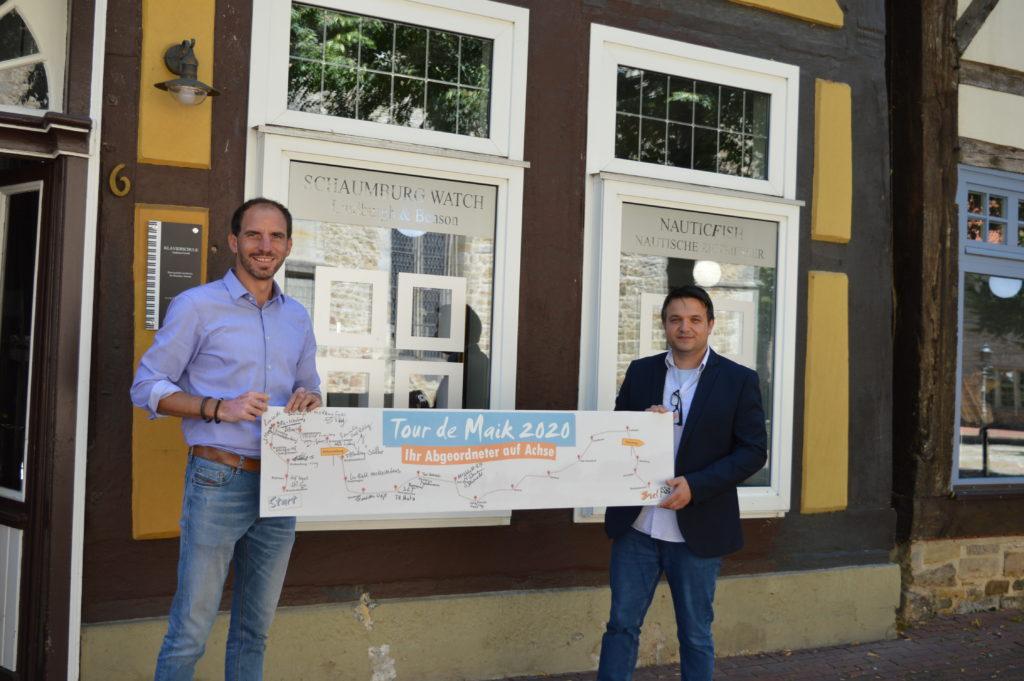 Tour de Maik führt den Bundestagsabgeordneten Maik Beermann nach Rinteln und Steinbergen.